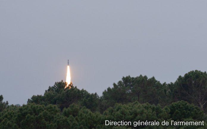 essai d'un missile balistique stratégique M51